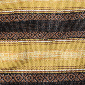 40 Carry brun retro siv kluddetæppe 68x140 cm