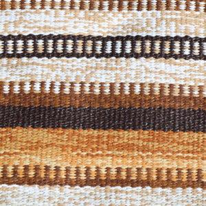 44 Retro brunlig siv kluddetæppe 44x62,5 cm