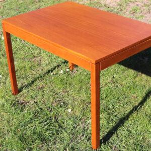 Teak sofabord høj i det 85x57x56 cm
