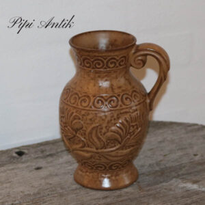 West Germany vase brunlig 671-20 cm Ø 9 cm