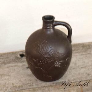 12 Höganäs flaske Martha Ø11x15 cm