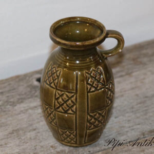 West Germany vase oliven M266 12 m h Ø5 cm
