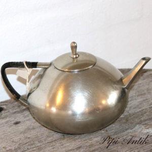 Retro tin te kande Ø18x15 cm H