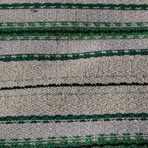 08 Kluddetæppe siv i grålig grøn 69x165 cm