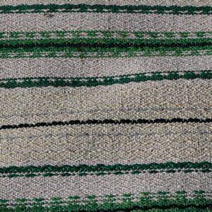 09 Kluddetæppe siv i grålig grøn 103x81 cm