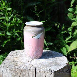 Lyserød NN vase Ø9x20 cm