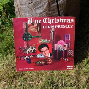 Elvis Blue Christmas Pure Gold Series RCA
