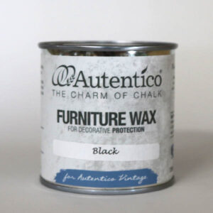 250 ml Black Wax Sort voks Autentico
