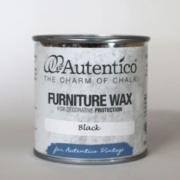 250 ml Black Wax Sort voks Autentico