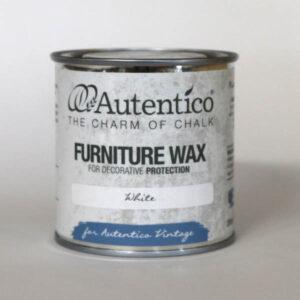 250 ml White Wax Hvid voks Autentico