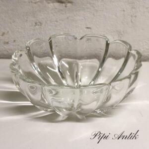 Glasskål 25x23x10 cm
