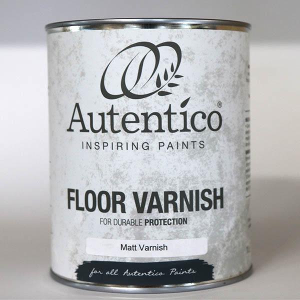 1000 ml gulvlak Floor Varnish matt lak Autentico