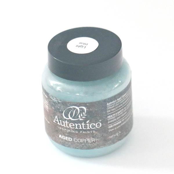 100 ml Aged Copper Light Blue Autentico