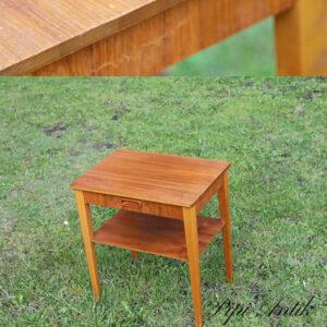 Teak natbord med skuffe L45xD32xH50 cm