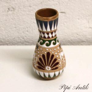 Græsk keramikvase Ø4x14,5 cm
