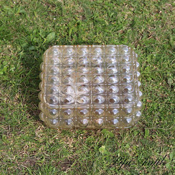 Retro loftlampe firkantet loftbobler 25x25