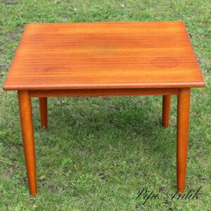 Teak sofabord kvadratisk 70x70x50 cm