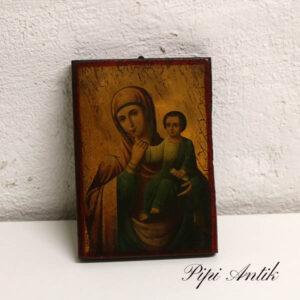 24 C Maria og Jesus billede 13,5x18,5x2 cm