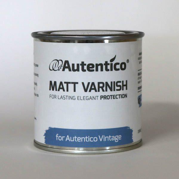 250 ml Matt Varnish mat lak Autentico