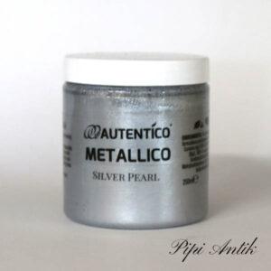 250 ml Silver Pearl Mettallico Autentico