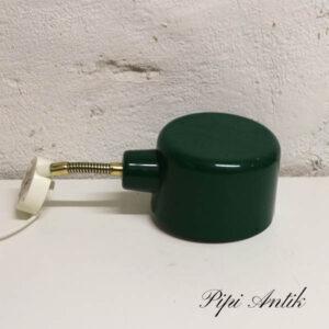 Grøn retro væglampe Ø14,5x9 cm