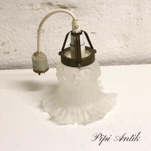 Romantisk loftlampe Ø14x16 cm