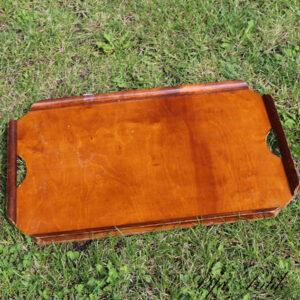 Træbakke møjbejset L55xB35,5 cm