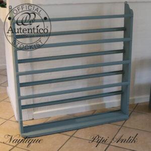 Tallerkenrække Nautique Autentico kalkmaling 102x106,5x7,5 cm