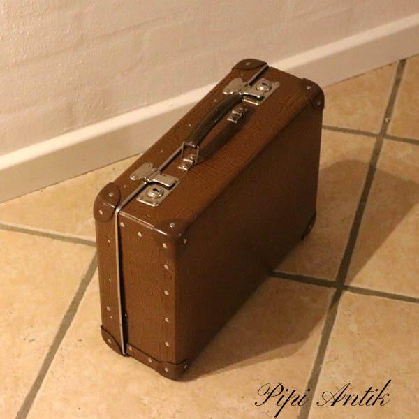 Mini kuffert picnigkurv uden indhold L34xB26xD12 cm