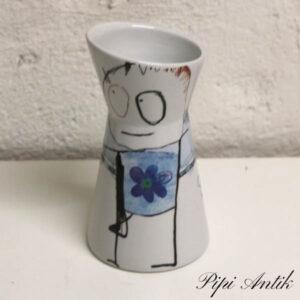Pava kande vase Ø9x16 cm