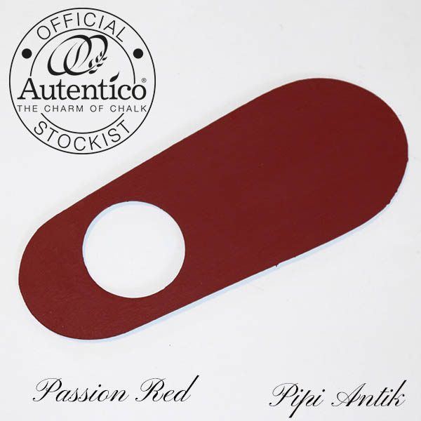 Passion Red Vintage kalkmaling Autentico
