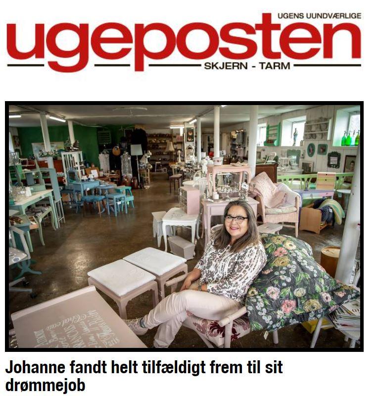 Pipi Antik i Skjern Ugeposten uge 43 2019