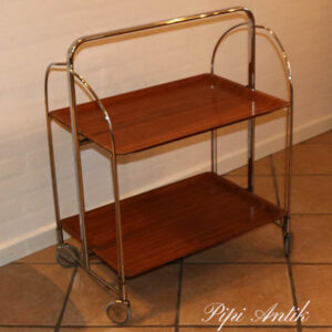 Bremsley & Co Solingen bakkebord i teak lakeret 1955-1960