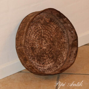 Metal sig rust til evt frugtskål eller dekorationsskål Ø33x8 cm