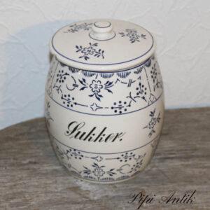 Sukker Villaroy Bock facanje krukke musselmalet Ø17x19 cm H