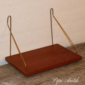 Teak string hylde L31 x D20 cm