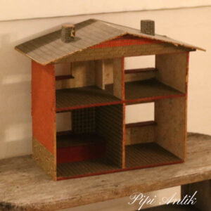 Dukkehus original 1950-1960 er look L50xD20xH40 cm