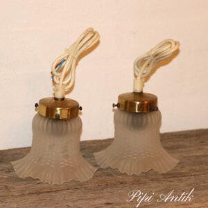 53 Romantisk Rlampe lille fatning Ø12x15 cm