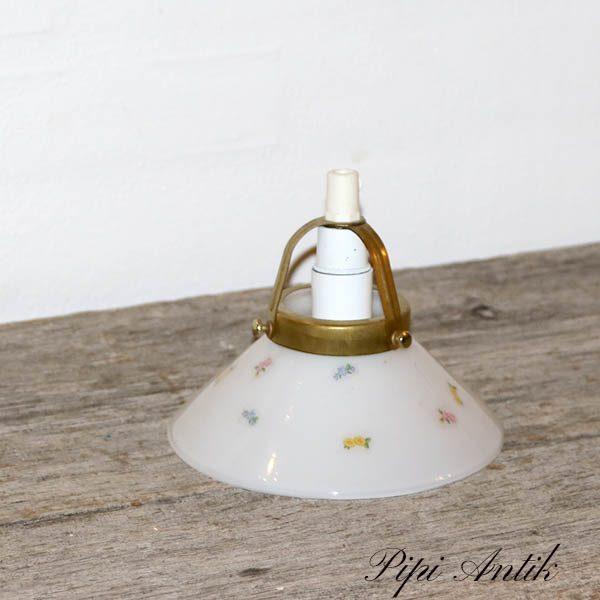59 Pendel mini romantisk med klistermærker Ø15x13 cm
