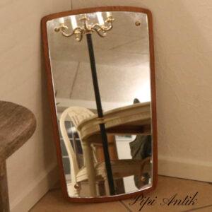 09 Teak spejl B27xH64xD1,5 cm