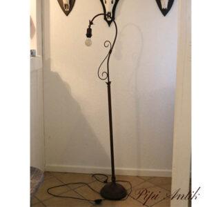 Standerlampe mørk nyere H153 cm
