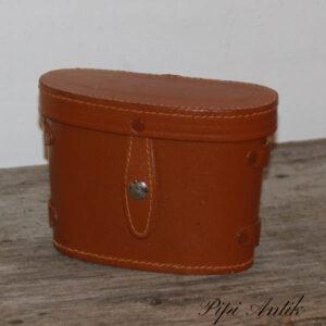 Kikkert taske brun uden hank L18xB8xH13 cm