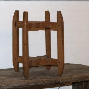 Træholder gl vægdel piedstal Ø21x35,5 cm