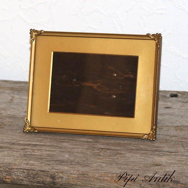 48 Metal fotoramme med bagklap 20,5x15,5 cm