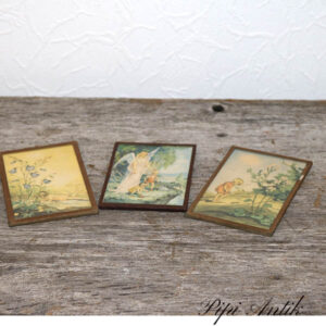 58 Illustrationer i glasramme pastellook 9x13,9 cm