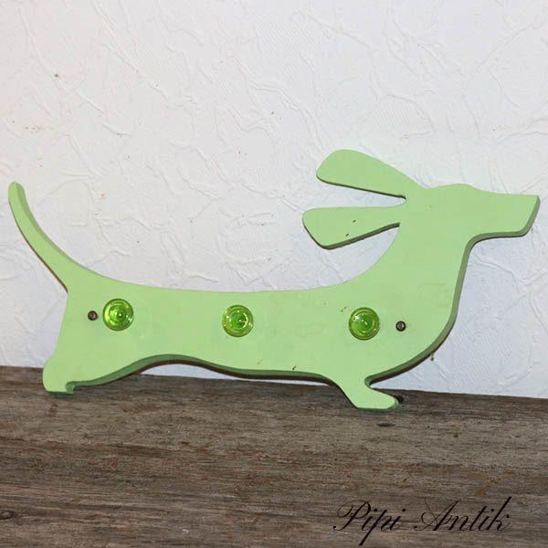 Gravhund seleholder L43 cm