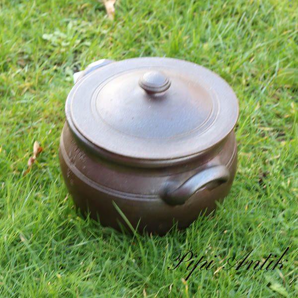 Höganæs 3 liters sildekrukke med låg Ø19x18 cm H