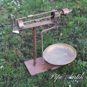 Butiksvægt B50xH54 cm rust patina