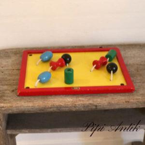 Brio tavle med plade med klodser L38xB28x5xH6 cm