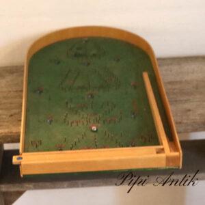 Flipperbræt i træ 58,5x31xH8,5 cm